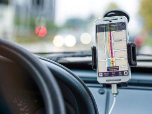 Navigation, Voiture, Entraînement, Route, Gps