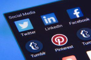 Médias Sociaux, Facebook, Twitter, Instagram, Icônes