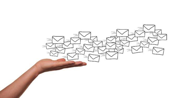 email marketing, newsletter, email, envelope, hand, send, message, communication, marketing, e-mail